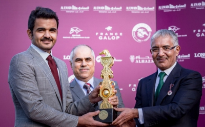AlHazm official sponsor of Qatar Prix de l'arc de triomph france 2016